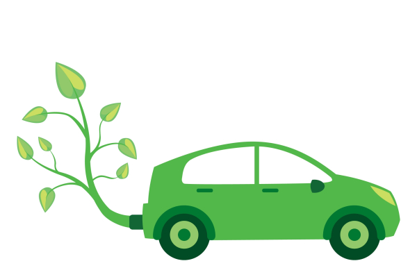 绿色小汽车